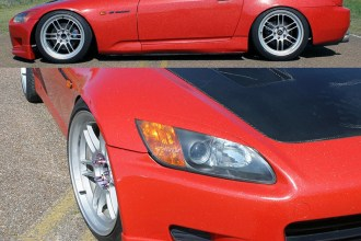 Avery Diamond Red S2000 Wrap