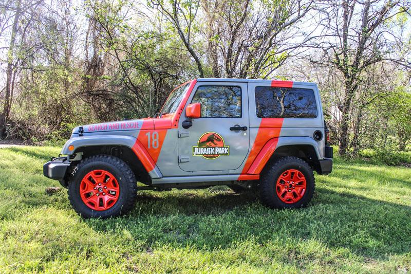 2016 jurassic park jeep wrap | wrapfolio