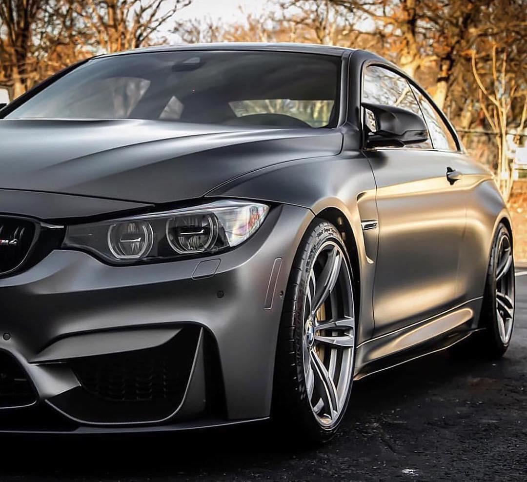 Satin Pearl Nero BMW M4 Wrap