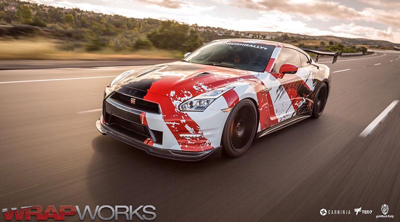 kamikaze GTR Wrap