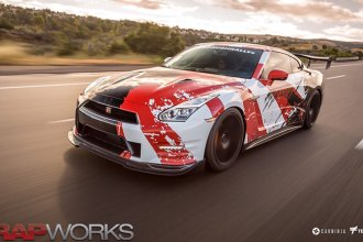 kamikaze GTR Wrap