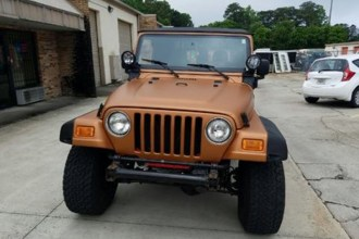 Matte Copper Jeep Wrangler Wrap