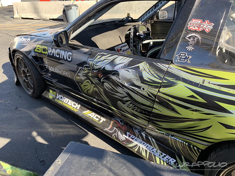 Bc Racing Nissan Drift Car Livery Wrapfolio