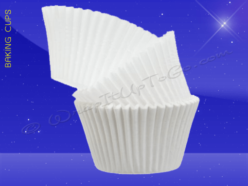 Baking Cups – 1 1/2″ x 1″ Wall – 3 1/2″ Overall Diameter Baking Cup – Overstock Sale 1