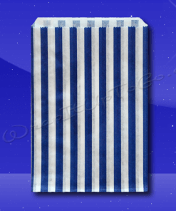 Candy Stripe Bags 10 x 14 – Blue Stripes 1