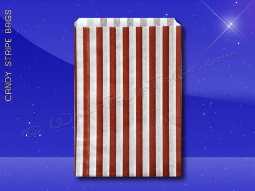 Candy Stripe Bags 5 x 7 – Brown Stripes 1