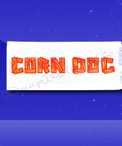 Corn Dog Bags – 3 x 3/4 x 7 – Printed Corn Dog 1