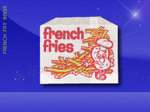 French Fry Bags – 4-7/8 x 4 – Printed French Fries 1