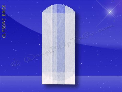 Glassine Bags – 3 x 1-3/4 x 6-3/4 – 1/2 Lb
