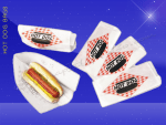 Hot Dog Bags – Conventional – 3 x 2 x 8-3/4 – Printed Hot Dog 2