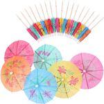 Paper Parasol Umbrella Picks