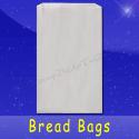 Fischer Paper Products BB-14 Bread Bags 8-1/2 x 4-1/2 x 14 Plain