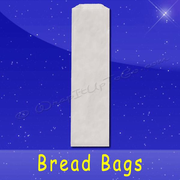 Fischer Paper Products BB-16 Bread Bags 5-1/4 x 2-3/4 x 16 Plain