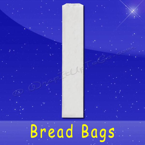 Fischer Paper Products BB-24 Bread Bags 5 x 3 x 24 Plain