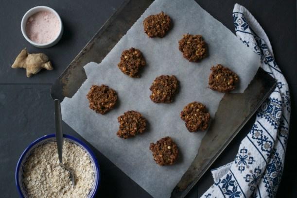 vegan and ginger cookies