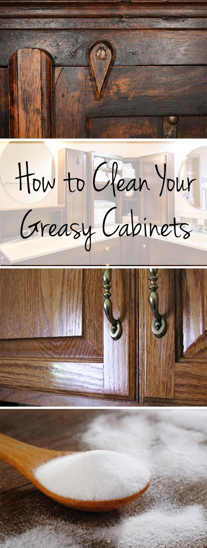 Cleaning Tips Hacks Por Pin Clean Home Your Greasy Cabinets