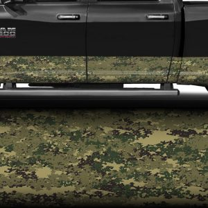 Marine Digital Camo Rocker Panel Wrap
