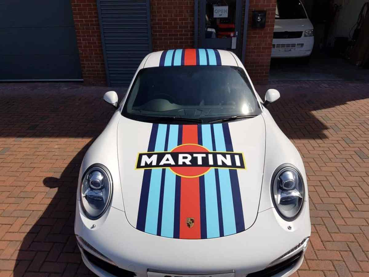 Porsche 911 997 Martini Racing Livery