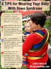 babywearing and down syndrome