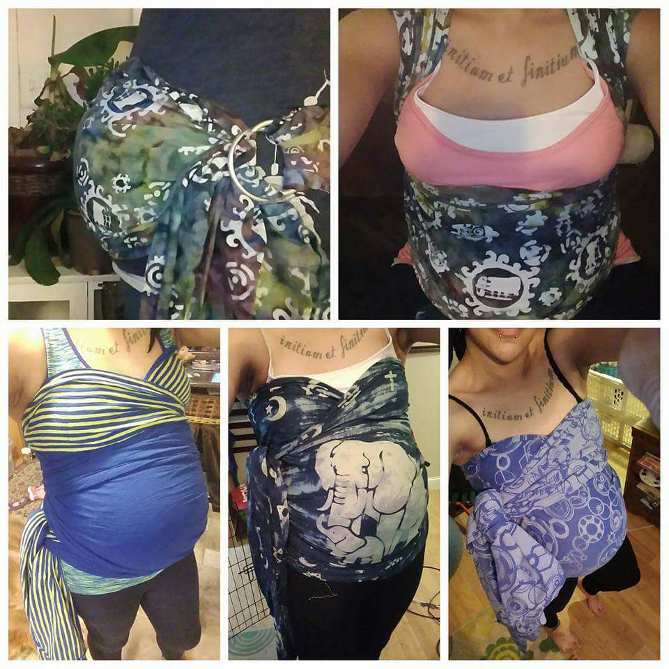 belly wrapping pregnancy