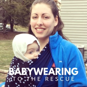 Wandering Wrapsody: Babywearing to the rescue