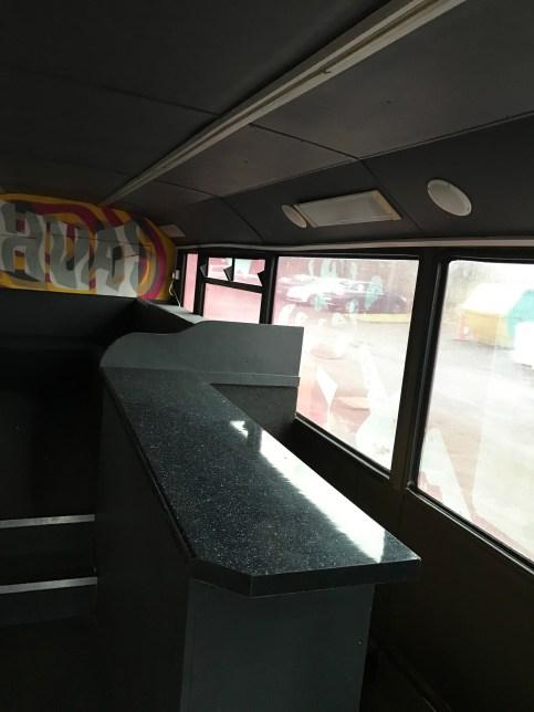 bespoke bus interior