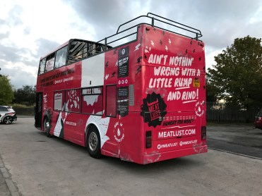 Cheshire bus wrapping