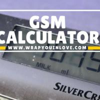 Gr/m² (GSM) Calculator
