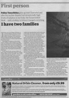 Palina's story - The Guardian