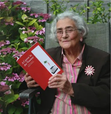A self-published author at 90! Writer Marion Sharville proves that it's never too late…