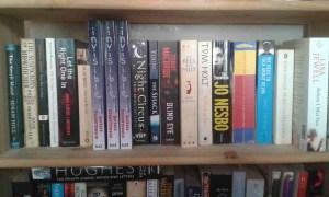 Invisible on Barbara's shelf