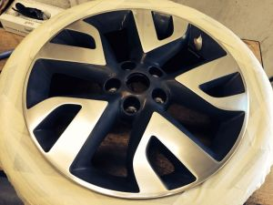 Diamond Cut Alloy Wheel Refurbishment Grimsby