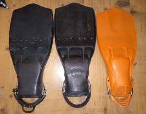 ScubaPro Jetfin, OMS Slipstreams and Deep Six Eddy Fin