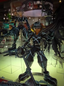 Kingdom Hearts Tron figures.