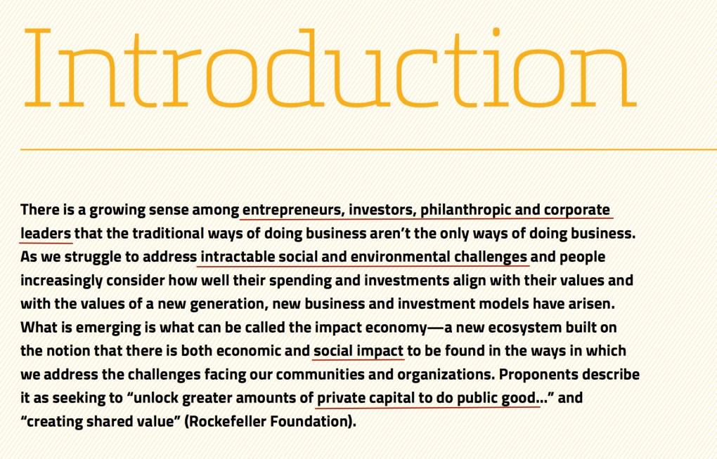 Impact Economy Philadelphia Intro
