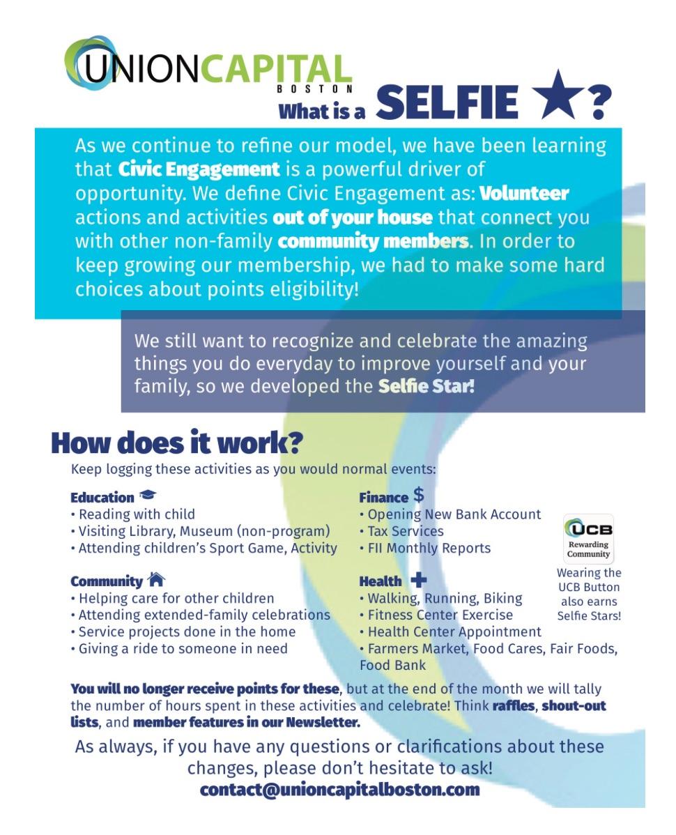 Union Capital Selfie Star