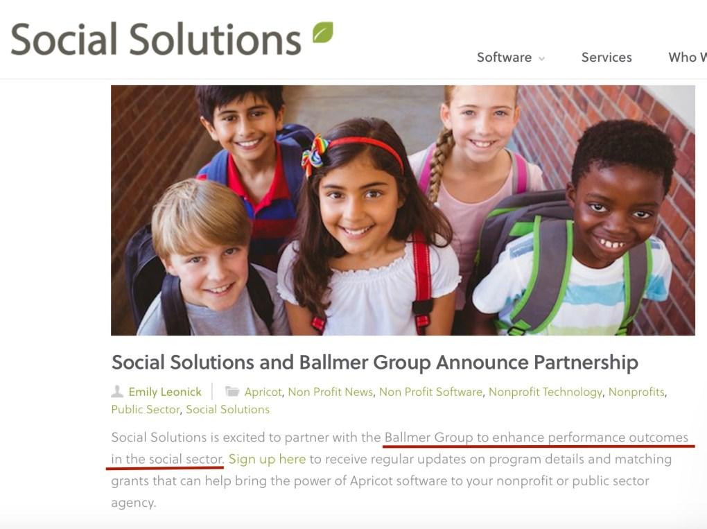 Social Solutions Ballmer