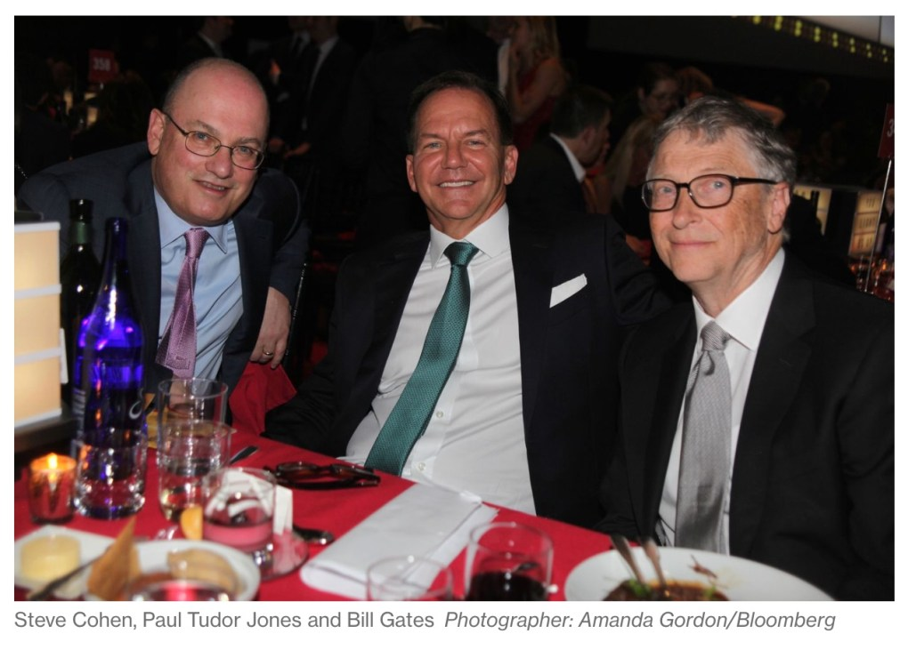 Paul Tudor Jones and Bill Gates Gala