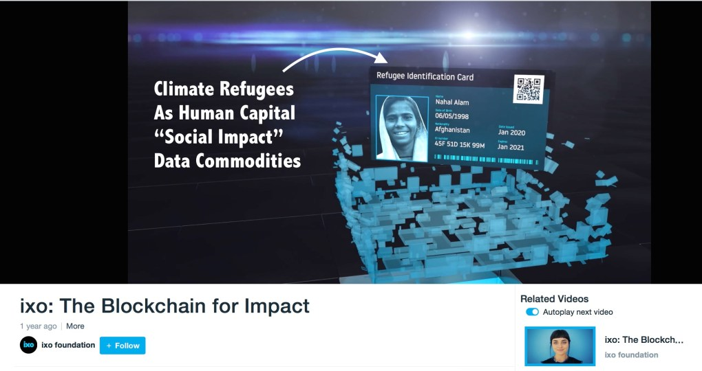 Climate Refugees IXO