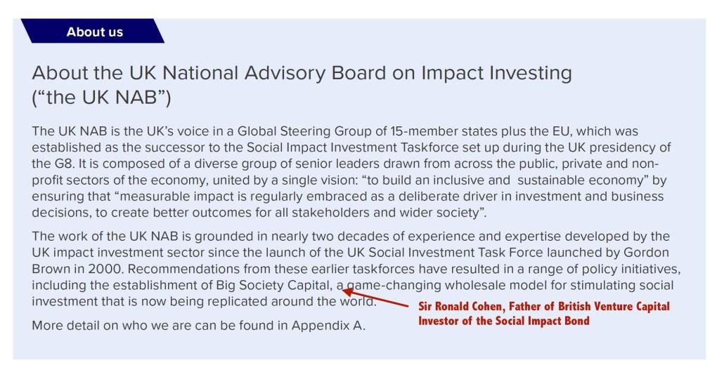 UK NAB Impact Investing