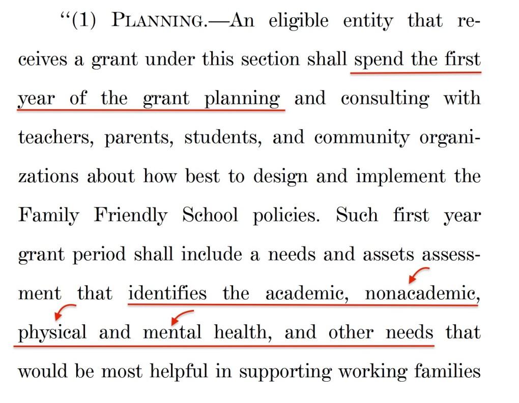 Family Friendly Schools Act Mental Health