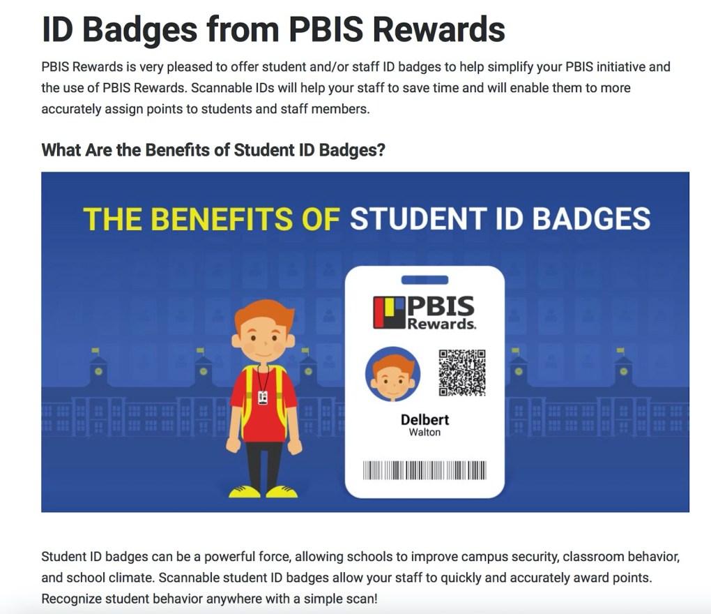 PBIS Badge