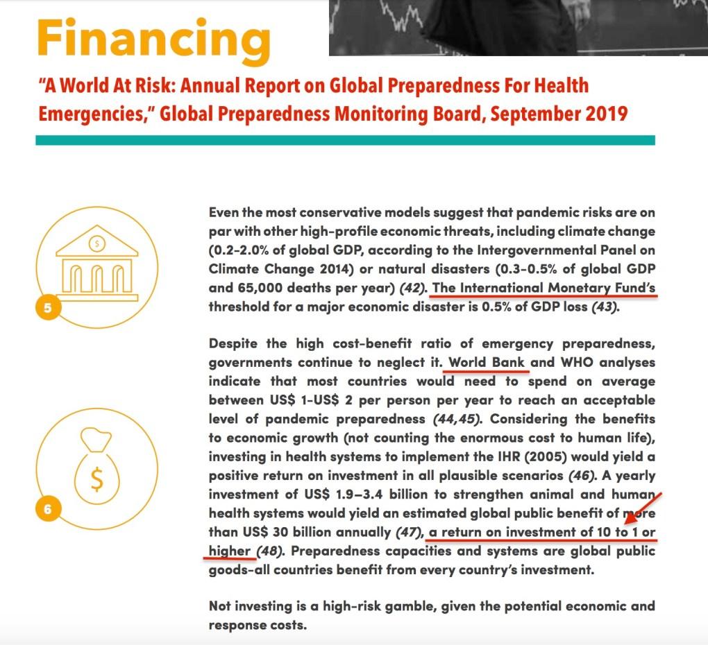 Vaccine Finance World Bank