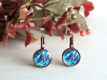 Splendid Fairy Wren earrings