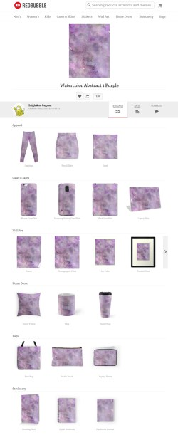 Other available products, RB: a lot of scrolling down to see everything