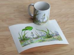 Mug & mini print