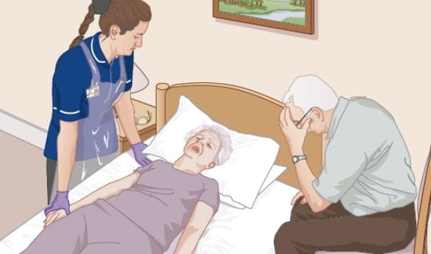 END OF LIFE CARE SYRINGE DRIVER VERIFICATION OF DEATH training