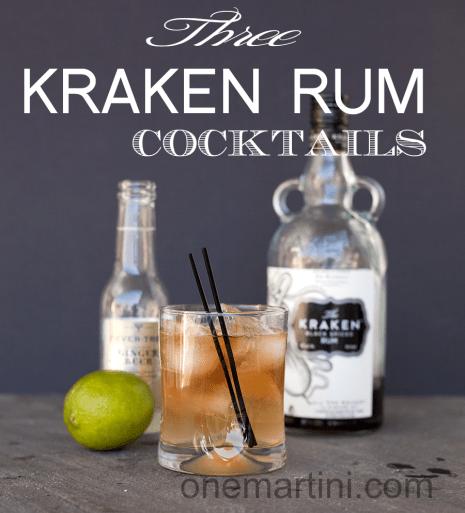 8. Kracken cocktail