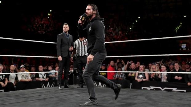 Seth Rollins invade NXT TakeOver: San Antonio