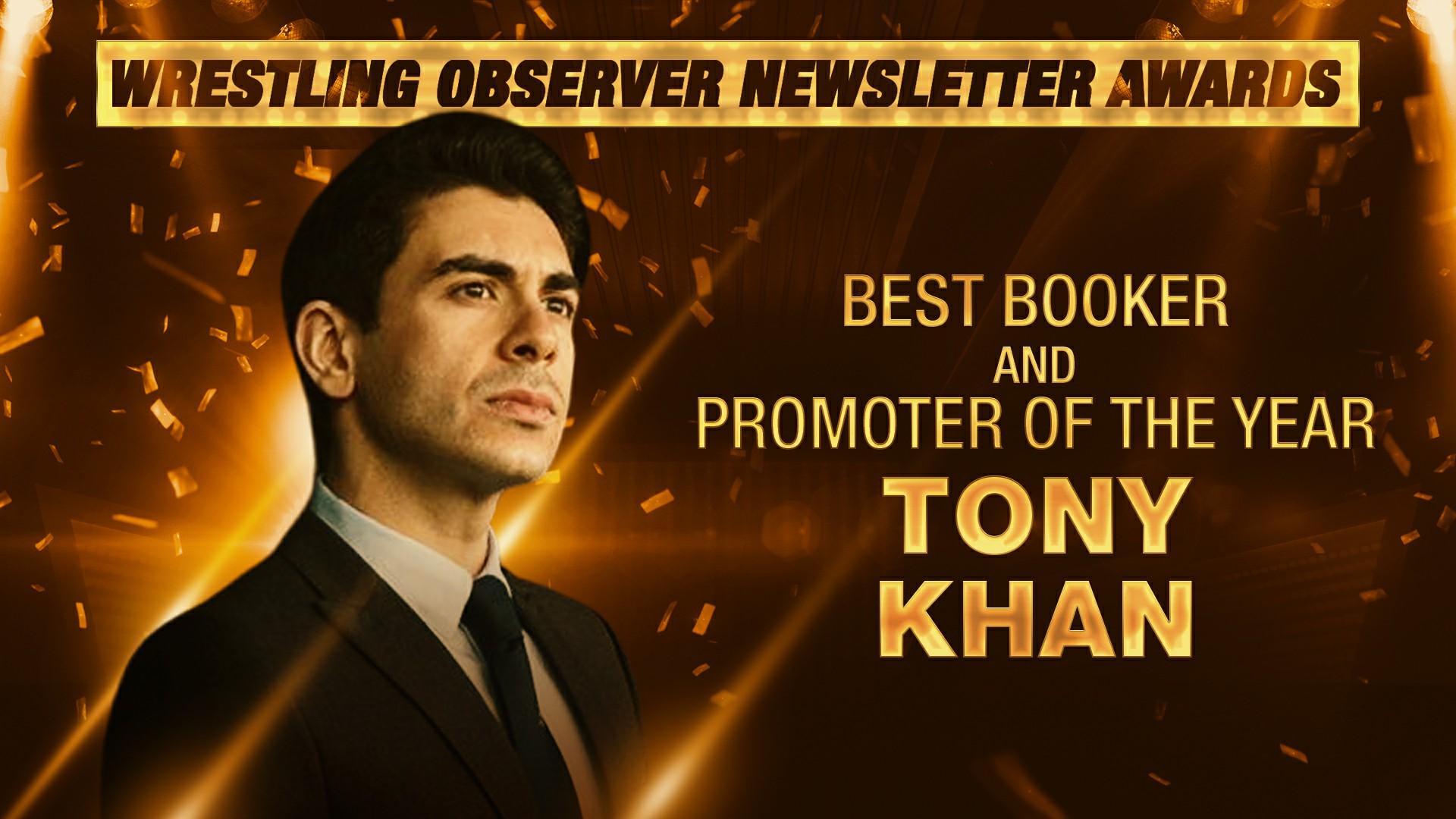 Imagem mostrando Tony Khan, CEO da AEW, em referência da Nick Khan e suas atitudes à frente da WWE